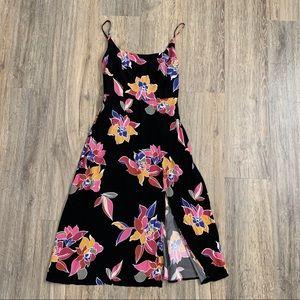A Black Floral Summer Dress